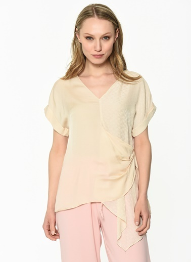 Ipekyol Kadın  Bluz IS1190006088 Yeşil